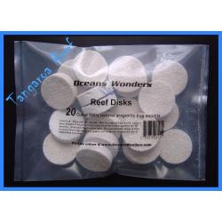 Coral Frag Disks 30 mm.