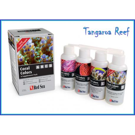 Coral Colors A,B,C,D.