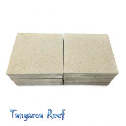 Agrocrete Coral Frag Tiles 2¨, 73x73 mm.