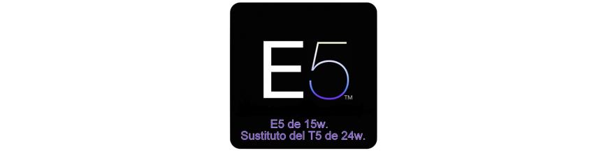 Tubo E5 de 15w. (24w.)